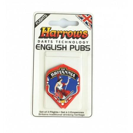Juego de Aletas HARROWS ENGLISH PUBS