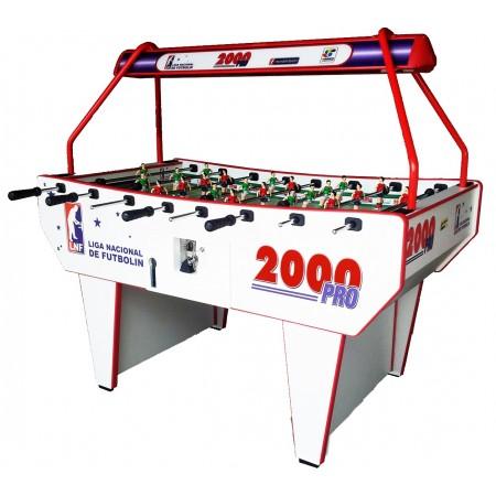 Futbolín PRESAS 2000 PRO con luz leds