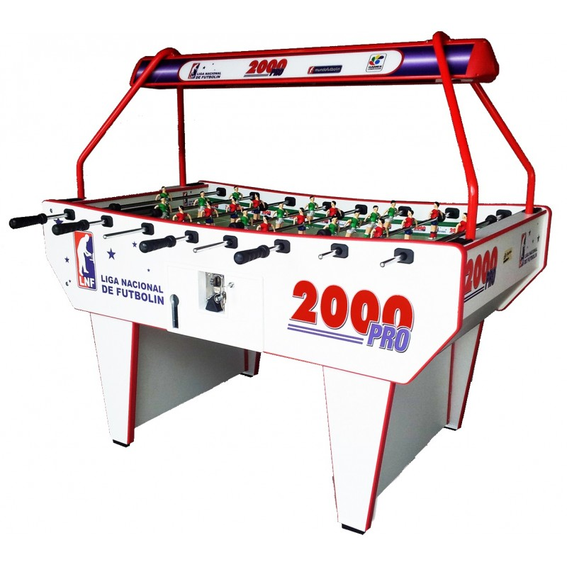 Futbolín L2000 pro con luz leds