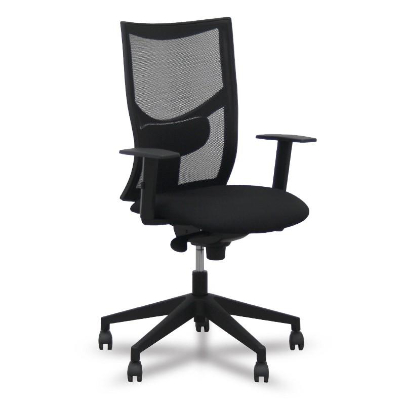 Silla oficina ergon mica newplus tienda servitronic for Sillas de estudio ergonomicas