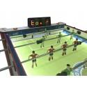 Futbolín PRESAS LNF PRO campo retroiluminado y marcador digital